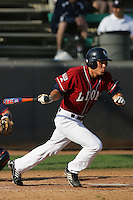 March 23, 2010: Ryan Hawthorne of Loyola Marymount during game  against Cal. St. Fullerton at LMU in Los Angeles,CA.  Photo by Larry Goren/Four Seam Images