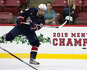 Grant Mismash (NTDP - 16) - The Harvard University Crimson defeated the US National Team Development Program's Under-18 team 5-2 on Saturday, October 8, 2016, at the Bright-Landry Hockey Center in Boston, Massachusetts.