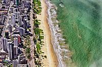 Praia de Boa Viagem, Recife, Pernambuco. 2011. Foto de Sergio Amaral.