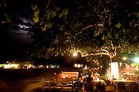 Trancoso_BA, Brasil...O Famoso Quadrado de Trancoso e uma grande praça retangular, gramada e cercadas de arvores centenarias e construcoes coloridas, da epoca do descobrimento, sul da Bahia...The famous Quadrado in Trancoso is a big rectangular square with grass, some centenary trees and colorful constructions of discovery Brazil, the Bahia south...Foto: LEO DRUMOND / NITRO