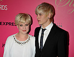 WESTWOOD, CA. - October 11: Kelly Osbourne and DJ Luke Worrall arrive at the 6th Annual Hollywood Style Awards at the Armand Hammer Museum on October 11, 2009 in Los Angeles, California.