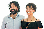 """Spanish director Mateo Gil and spanish actress Oona Chaplin attends to a photocall during the presentation of the film """"Proyecto Lazaro"""" at the Festival de Cine Fantastico de Sitges in Barcelona. October 07, Spain. 2016. (ALTERPHOTOS/BorjaB.Hojas)"""
