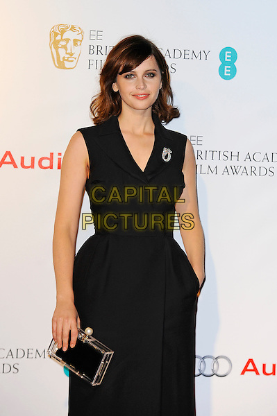 LONDON, ENGLAND - FEBRUARY 7: Felicity Jones attending the EE British Academy Awards Nominees Party at Kensington Palace, on February 7 2015 in London, England.<br /> CAP/MAR<br /> &copy; Martin Harris/Capital Pictures
