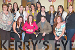 KEY OF THE DOOR: Soaking up the atmosphere at her 21st birthday in The Greyhound Bar, Tralee, on Friday evening was Tina Dunne of Gallowsfield (seated second from left), along with family and friends..