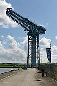 The Titan Crane at Clydebank - once towering over the John Brown Shipyard the crane is now a tourist attraction -  Picture by Donald MacLeod - 30.05.11 - 07702 319 738 - www.donald-macleod.com - clanmacleod@btinternet.com