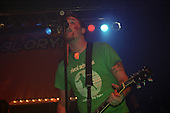Chad Gilbert (guitar) of New Found Glory performs at Harro East Ballroom in Rochester, New York circa October 31, 2001.  Photo Copyright Mike Janes Photography