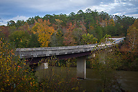 Brushy Creek Recreation Area in the Cossatot River State Park in the Ouachita National Forest in Arkansas.