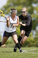 20 June 2006: Thea Lorentzen during Stanford's 17-9 loss to Northwestern in the first round of the 2006 NCAA Lacrosse Championships in Evanston, IL. Stanford made it to the NCAA's for the first time in school history.