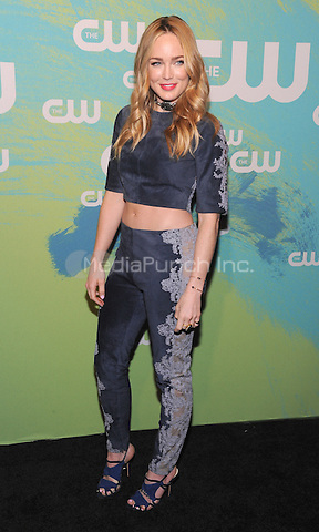 NEW YORK, NY - MAY 19: Caity Lotz  attends the 2016 CW Upfront presentation at the London Hotel on May 19, 2016 in New York City. Photo Credit: John Palmer/ Media Punch