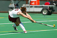27 August 2005: Aska Sturdevan during Stanford's 2-1 overtime loss to Miami (Ohio) at the Varsity Turf Field in Stanford, CA.