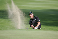 Darren Clarke takes his 3rd shot from the bunker on the 14th during the first round of the 2008 Irish Open at Adare Manor Golf Resort, Adare,Co.Limerick, Ireland 15th May 2008 (Photo by Eoin Clarke/GOLFFILE)