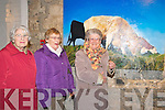 Listowel Food Fair Exhibition : Pictured  at the exhibition of farm animal paintings by Helen Richmond at St. John's Arts Centre, Listowel on Friday night were Anna Walsh, Beatrice Kelly & Ena Bunyan.