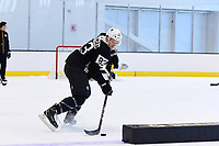 June 26, 2018: Boston Bruins forward Karson Kuhlman (83) skates during the Boston Bruins development camp held at Warrior Ice Arena in Brighton Mass. Eric Canha/CSM