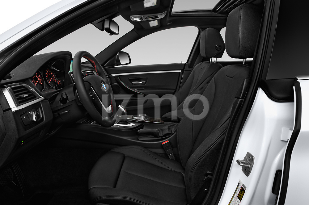 Front seat view of a 2020 BMW 4 Series 430i Gran Coupe 5 Door Hatchback front seat car photos