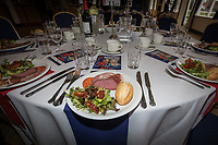 Pre-match hospitality ahead of the Greene King IPA Championship match between London Scottish Football Club and Ealing Trailfinders at Richmond Athletic Ground, Richmond, United Kingdom on 8 September 2018. Photo by David Horn.