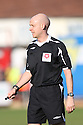 Referee Nick Kinseley during the Blue Square Bet Premier match between Cambridge United and York City at the Abbey Stadium, Cambridge on 19th March, 2011.© Kevin Coleman 2011