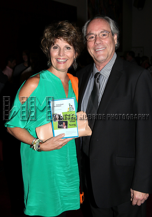 "Lucie Arnaz & Robert Klein.attending the Actors Fund Benefit Performance of ""THEY'RE PLAYING OUR SONG"" at the Gerald W. Lynch Theatre at John Jay College in New York City..August 25, 2010 .© Walter McBride / .."