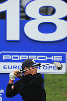 Hideto Tanihara (JPN) during the third round of the Porsche European Open , Green Eagle Golf Club, Hamburg, Germany. 07/09/2019<br /> Picture: Golffile | Phil Inglis<br /> <br /> <br /> All photo usage must carry mandatory copyright credit (© Golffile | Phil Inglis)