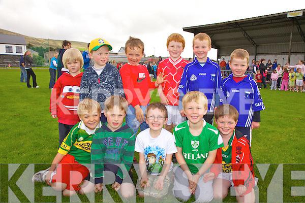 At the Community games in Cahersiveen on Thursday last were front l-rRonan Teehan, Brian Quinlan, Fiona?n Keating, Sam O'Driscoll, Aodha?n O'Neill, back l-r; Finton O'Sullivan, Tadhg O'Sullivan, Breece O'Sullivan, Donnchadh O'Connor, Brian O'Sullivan & Stephen O'Sullivan.