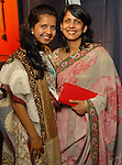 Neha and Anjali Agrawal at the Arts of India Gallery launch party at the Museum of Fine Arts Houston Thursday May 14,2009.(Dave Rossman/For the Chronicle)