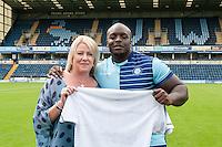 Wycombe Wanderers 2016/17 Player Shirt Sponsor Photos