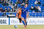 Ulsan Hyundai Midfielder Jeong Jae Yong (R) in action during the AFC Champions League 2017 Group E match between Ulsan Hyundai FC (KOR) vs Brisbane Roar (AUS) at the Ulsan Munsu Football Stadium on 28 February 2017 in Ulsan, South Korea. Photo by Victor Fraile / Power Sport Images