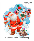 GIORDANO, CHRISTMAS SANTA, SNOWMAN, WEIHNACHTSMÄNNER, SCHNEEMÄNNER, PAPÁ NOEL, MUÑECOS DE NIEVE, paintings+++++,USGI2078,#X# stickers