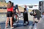 David Lopez Garcia (ESP) Team Sky on the start ramp during Stage 16 of the 2017 La Vuelta, an individual time trial running 40.2km from Circuito de Navarra to Logro&ntilde;o, Spain. 5th September 2017.<br /> Picture: Unipublic/&copy;photogomezsport | Cyclefile<br /> <br /> <br /> All photos usage must carry mandatory copyright credit (&copy; Cyclefile | Unipublic/&copy;photogomezsport)