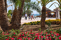 Promenade, Estepona, Malaga Province, Spain, October, 2018, 201810092531<br />