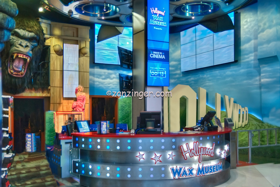 Hollywood Wax Museum, Hollywood, CA, Hollywood Blvd, tourist, attractions, Los Angeles, Ca,