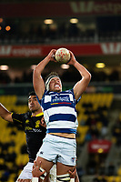 Action from the Mitre 10 Cup rugby match between Wellington Lions and Auckland at Westpac Stadium in Wellington, New Zealand on Thursday, 4 October 2018. Photo: Mike Moran / lintottphoto.co.nz