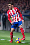 Atletico de Madrid Lucas Hernanez during La Liga match between Atletico de Madrid and Real Madrid at Wanda Metropolitano in Madrid, Spain. November 18, 2017. (ALTERPHOTOS/Borja B.Hojas)