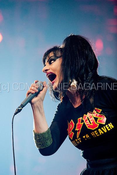 German singer Nina Hagen at the Sinner's Day festival in Hasselt (Belgium, 31/10/2010)