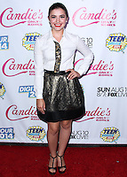 BEVERLY HILLS, CA, USA - AUGUST 09: Ana Golja at the DigiTour and Candie's Official Teen Choice Awards 2014 Pre-Party held at The Gibson Showroom on August 9, 2014 in Beverly Hills, California, United States. (Photo by Xavier Collin/Celebrity Monitor)