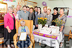 "Nora ""Queenie"" Foley from Lixnaw who turned 100-years-old on Friday surrounded by her family in Kildare Nursing Home, Duagh."