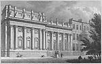 Lord Grosvenor's Gallery, Park Lane, engraving 'Metropolitan Improvements, or London in the Nineteenth Century' London, England, UK 1828 , drawn by Thomas H Shepherd