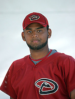 Enrique Burgos - Arizona Diamondbacks - 2010 Instructional League.Photo by:  Bill Mitchell/Four Seam Images..