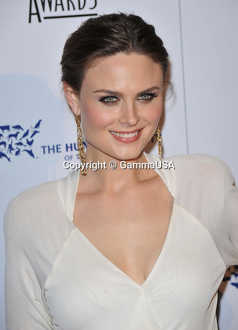 Emily Deschanel _61 - <br /> 24th Genesis Awards at the Beverly Hilton In Los Angeles.