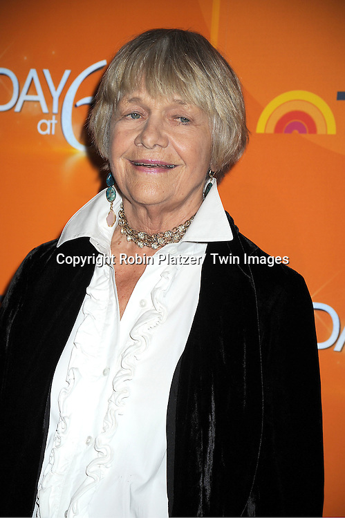 Estelle Parsons attends The Today Show's 60th Anniversary celebration party on January 12, 2012 at The Edison Ballroom in New York City.