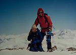 John and Beth on Mt Democrat, Colorado