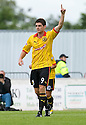 KRIS DOOHAN CELEBRATES AFTER HE SCORES PARTICK'S FIRST