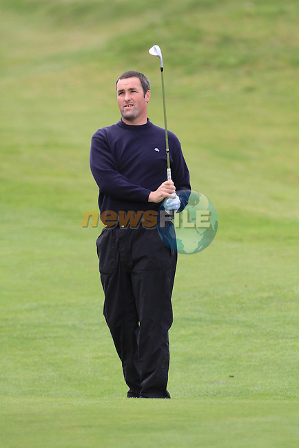 Day one of the Irish PGA championship at Seapoint Golf Club,.Michael Mulryan Athenry Golf Club on the 18th..Picture Fran Caffrey/www.golffile.ie.