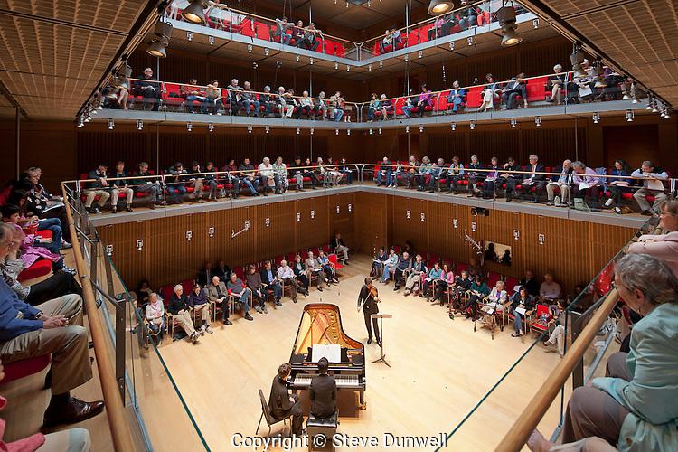 Isabella Stewart Gardner Museum, Boston, MA Benjamin Beilman, violin Calderwood Concert Hall (Renzo Piano architect)