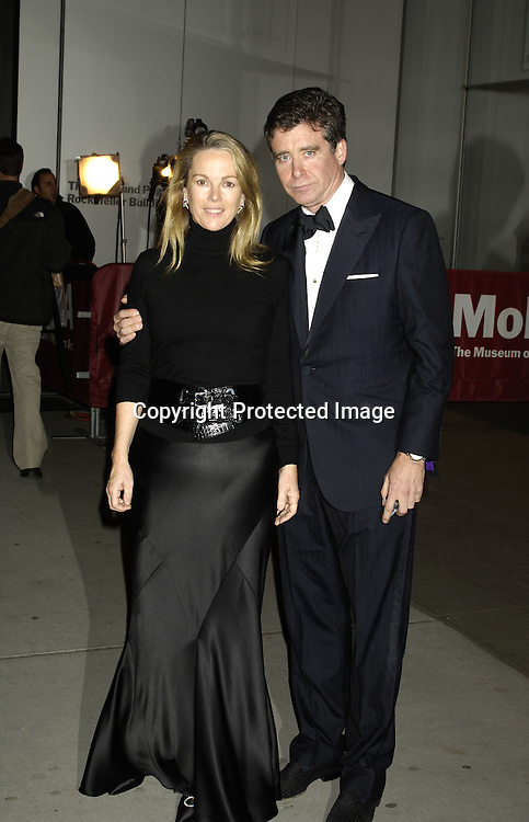 Ann Hearst and Jay MacInerny ..at The Museum of Modern Art for a party for Prince Charles and The Duchess of Cornwall on November 1, 2005. ..Photo by  Robin Platzer, Twin Images