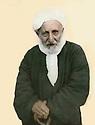 Iraq 1963.Erbil: Sheikh Rashid of Lolan, grandfather of Kerim Khan<br /> <br /> Irak 1963 Erbil: Sheikh rashid de Lolan, grand-pere de Kerim Khan