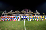 South China vs Global FC during the 2015 AFC Cup 2015 Group G match on April 29, 2015 at the Mongkok Stadium in Hong Kong, Hong Kong SAR. Photo by Xaume Olleros / Power Sport Images for World Sport Group