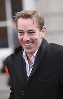 09/03/2011.Broadcaster Ryan Tubridy.at Leinster House,  Dublin..Photo: Gareth Chaney Collins