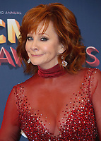 LAS VEGAS, NV - APRIL 15:  Reba McEntire in the press room at the 53rd Annual Academy of Country Music Awards at MGM Grand Garden Arena on April 15, 2018 in Las Vegas, Nevada. (Photo by Scott Kirkland/PictureGroup)