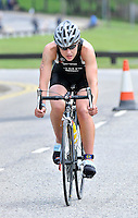 Photo: Paul Greenwood/Richard Lane Photography. Strathclyde Park Elite Triathlon. 17/05/2009. .England's Rebecca Milnes.
