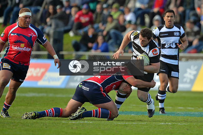 Tasman Makos v Hawke's Bay, ITM Cup, 17th August 2014, Lansdowne  Park, Blenheim, Photo: Barry Whitnall / shuttersport.co.nz